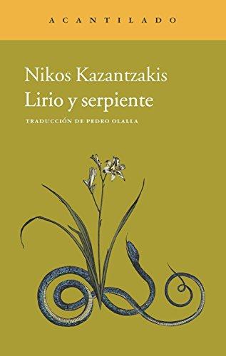 Lirio y serpiente: Kazantzakis, Nikos