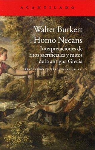 Homo Necans: WALTER BURKERT