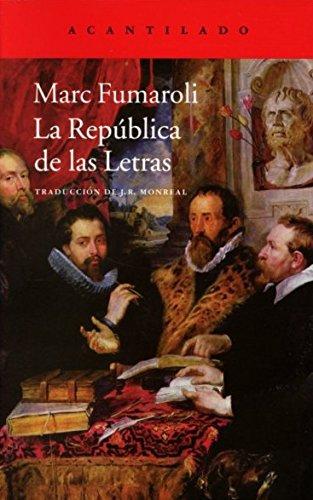 9788415689874: La República de las Letras