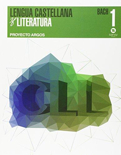 9788415721208: Lengua y literatura NB1 (Argos) - 9788415721208