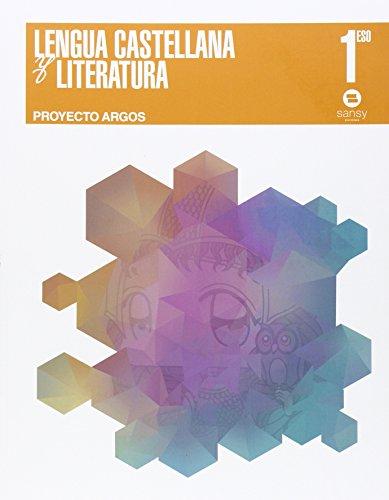 9788415721215: Lengua y literatura ESO1 (Proyecto Argos) - 9788415721215