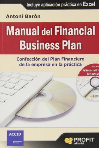 Manual del Financial Business Plan (Paperback): Antoni Baron Pladevall