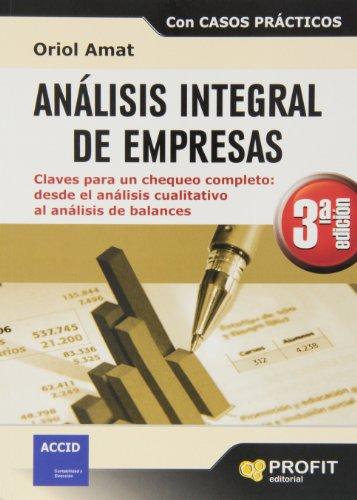 9788415735564: ANALISIS INTEGRAL DE EMPRESAS 3ª EDICIÓN