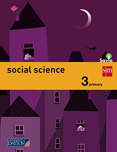9788415743323: Social science. 3 Primary. Savia