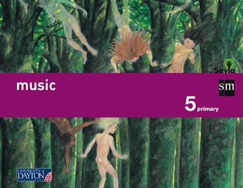 9788415743392: Music. 5 Primary. Savia