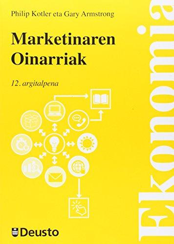 Marketinaren oinarriak: Kotler, Philip /