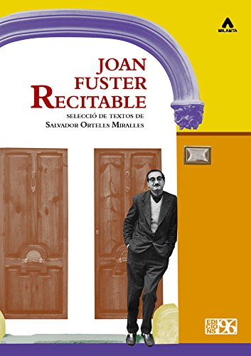 9788415802778: Joan Fuster recitable (Milanta)