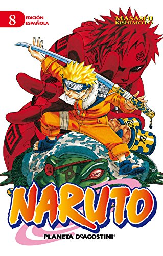9788415821991: Naruto n 08
