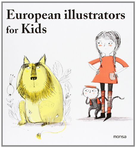 9788415829140: European Illustrators for Kids (English and Spanish Edition)