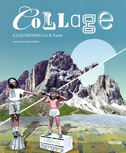 9788415829287: Collage: Illustrations Cut & Paste (English and Spanish Edition)