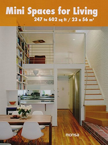 9788415829867: Mini Spaces for Living: 247 to 602 Sq. Ft.