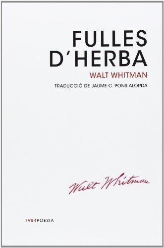 9788415835301: Fulles d'herba: 10 (1984Poesia)