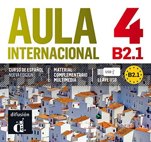 9788415846109: Aula internacional 4. Nueva edición (B2.1). Llave USB (Ele - Texto Español)
