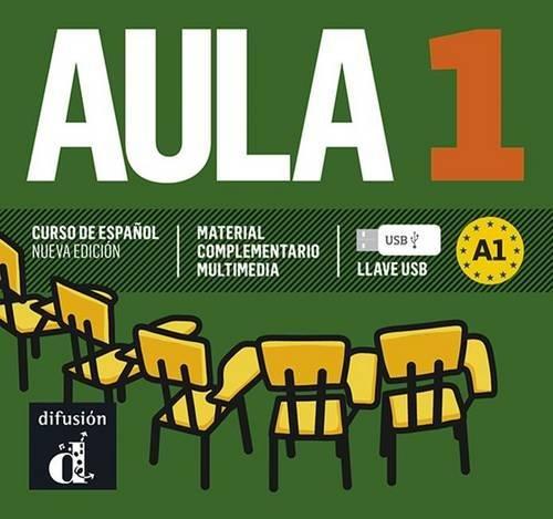 9788415846123: Aula 1 Nueva edición (A1) - Llave USB (Ele - Texto Español)