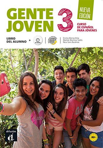 9788415846314: Gente Joven 3. Nueva edicion. Libro del alumno + CD (Spanish Edition)