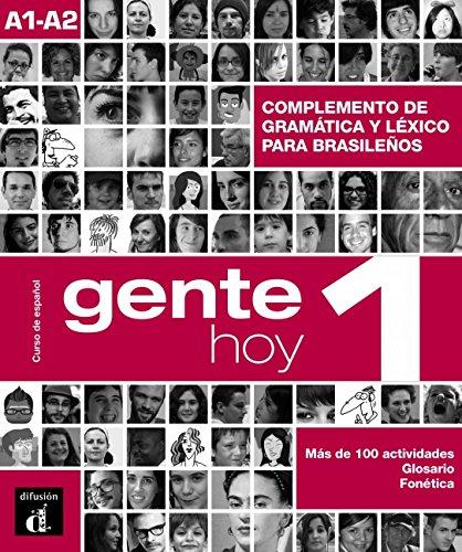 9788415846994: GENTE HOY 1 GRAMATICA+VOCABULARIO BRASIL