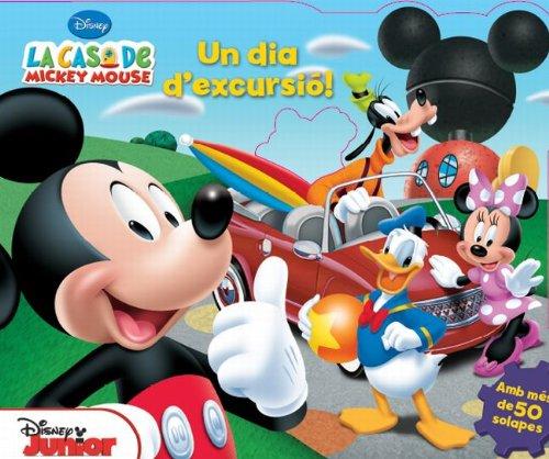 9788415853114: La casa de Mickey Mouse. Un dia d'excursió!
