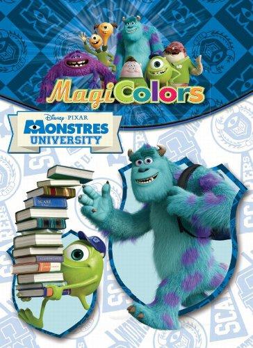 9788415853435: Magicolors. Monstres university