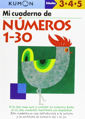 9788415857044: Kumon. Mi Libro De Números 1-30