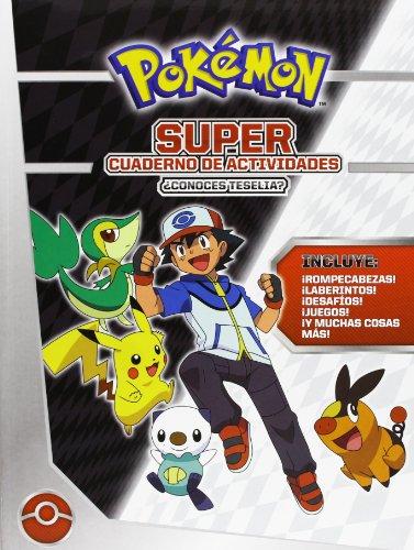 9788415857136: Pokémon. Super Cuaderno De Actividades (Pokemon)