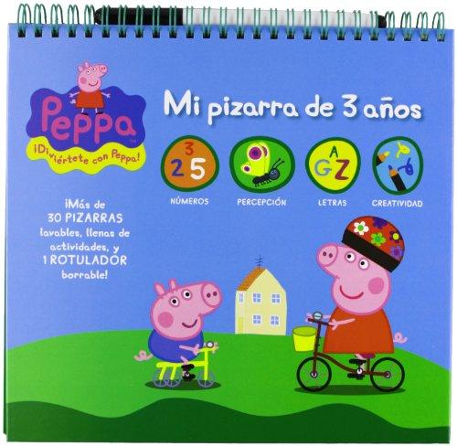 9788415857297: Peppa Pig. Mi Pizarra Para Aprender Y Jugar - 3 A�os (+ Rotulador)