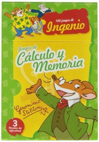9788415857419: JUEGOS CALCULO Y MEMORIA GERONIMO STILTON