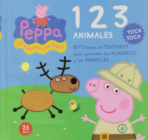 9788415857488: BITS TEXTURAS PEPPA PIG 123