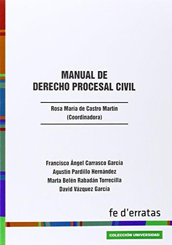 Manual de derecho procesal civil: Carrasco García, Francisco