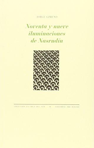 Noventa y nueve iluminaciones de Nasrudín: Gimeno, Jorge