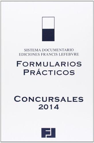 9788415911135: Formularios prácticos concursales 2014