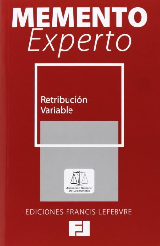 9788415911203: MEMENTO EXPERTO RETRIBUCION VARIABLE
