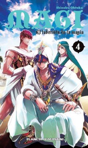 9788415921608: Magi El laberinto de la magia nº 04/37 (Manga Shonen)