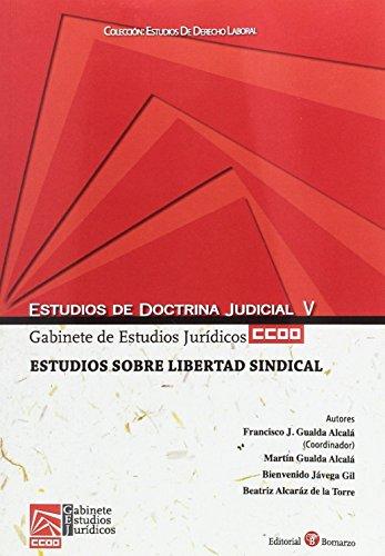 9788415923879: Estudios sobre libertad sindical
