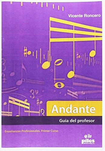 9788415928713: Andante guía del profesor enseñanzas profesionales primer curso