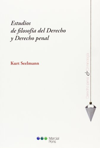 9788415948414: Estudios de filosofia del Derecho y Derecho Penal (Derecho penal y criminología)