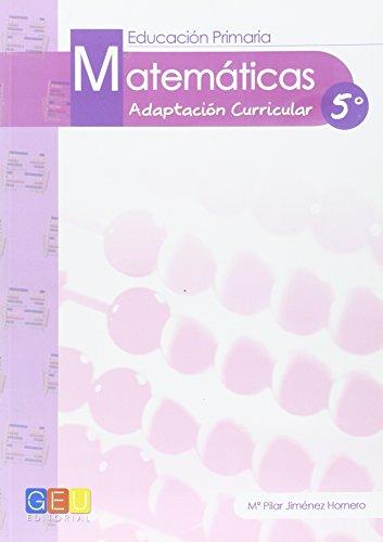 9788415953432: MATEMATICAS 5 ADAP.CURRIC. E.P.5 GEU