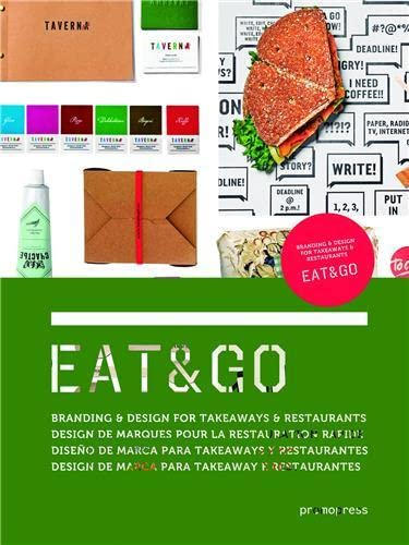 Eat & Go: Branding & Design Identity for Takeaways & Restaurants: Danil Snitko