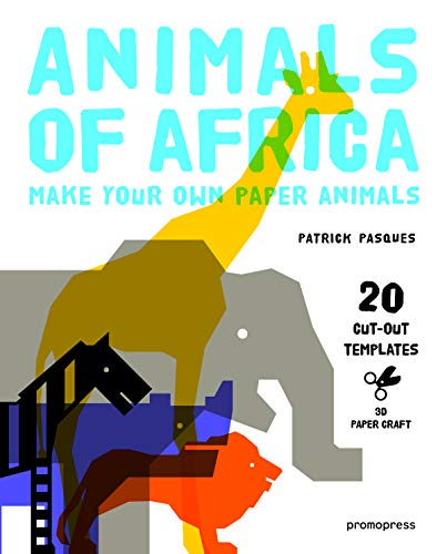 9788415967798: Animals of Africa: Make Your Own Paper Animals (3D Paper Craft)