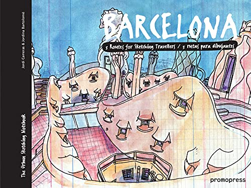 9788415967910: Barcelona - Five Rotes for Sketching Travellers (Urban Sketchers Pads)
