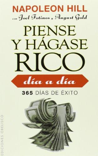 9788415968290: Piense y hagase rico dia a dia (Spanish Edition)