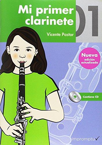 9788415972600: Mi primer clarinete 01