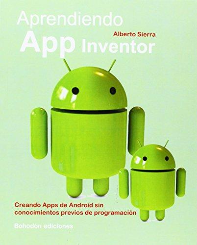 9788415976233: Aprendiendo APP inventor