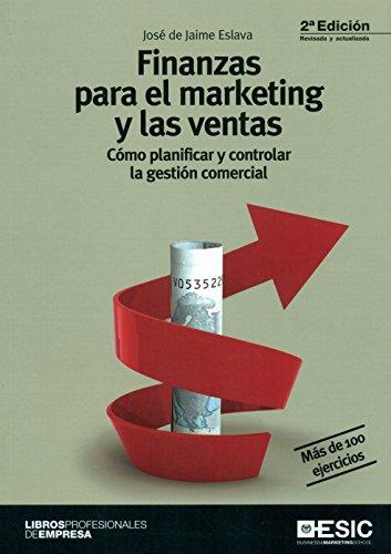 9788415986973: Finanzas para el marketing y las ventas: cómo planificar y controlar la gestión comercial