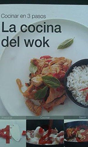 9788415989684: Cocinar en 3 pasos la cocina del wok