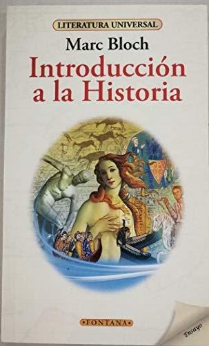 9788415999898: Introducción a la Historia (Fontana)
