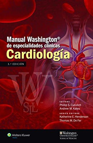 9788416004157: Manual Washington de especialidades clínicas. Cardiología
