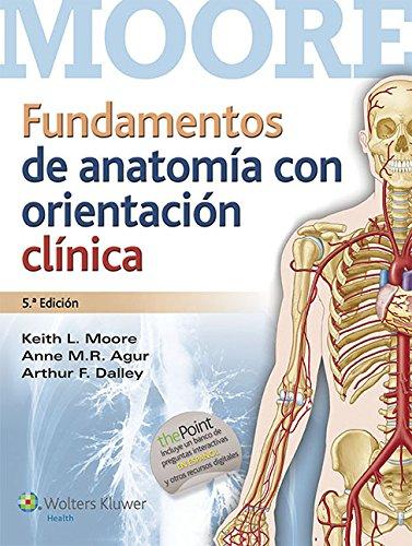 anatomía orientación clínica de moore - Iberlibro
