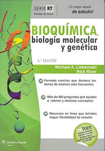 Bioquimica Biologia Molecular Y Genetica (Paperback): Michael Lieberman