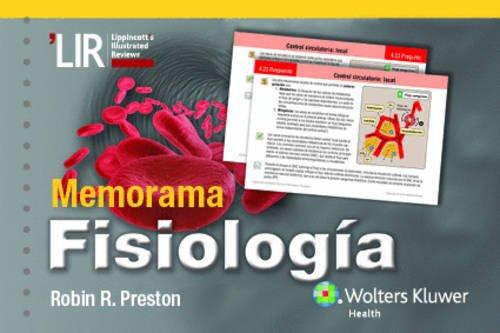 9788416004744: Memorama Fisiología (Lippincott Illustrated Reviews Series) (Spanish Edition)