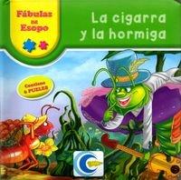 La cigarra y la hormiga: Esopo
